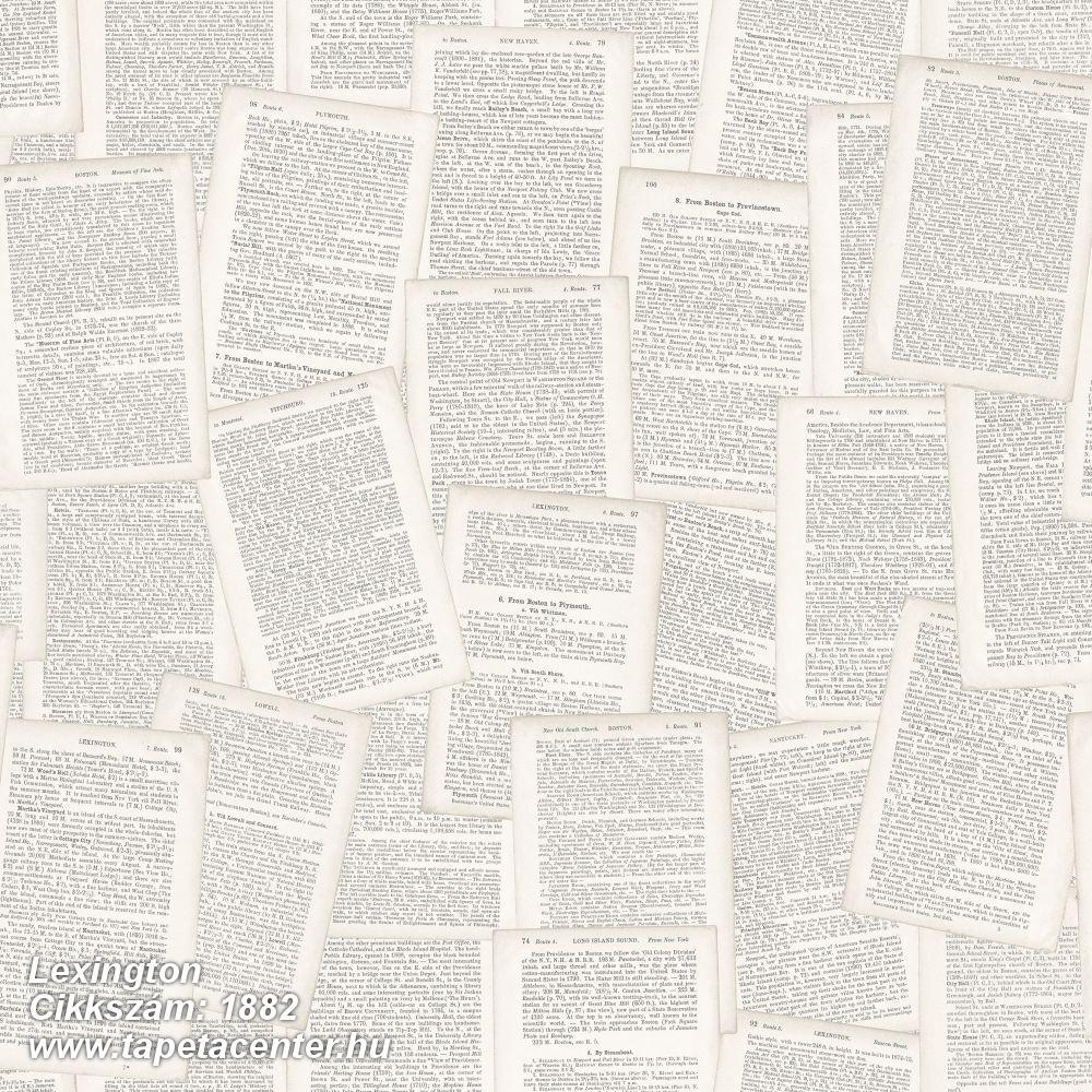 Feliratos-számos,különleges motívumos,bézs-drapp,fehér,fekete,szürke,lemosható,vlies tapéta