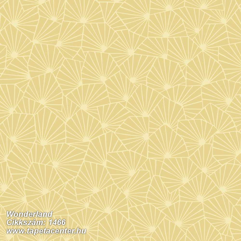 Absztrakt,gyerek,virágmintás,fehér,sárga,lemosható,vlies tapéta