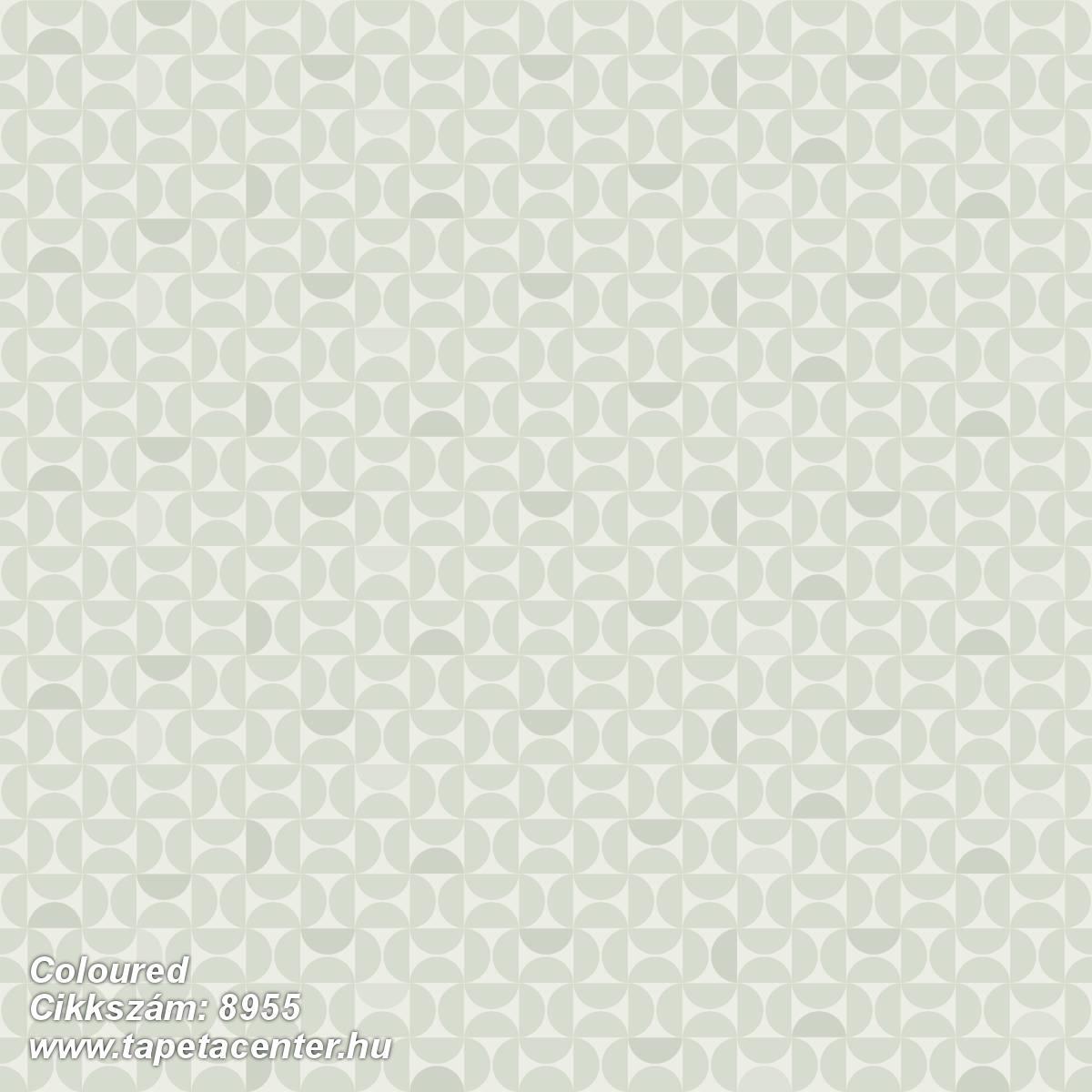 Geometriai mintás,különleges felületű,zöld,lemosható,vlies tapéta