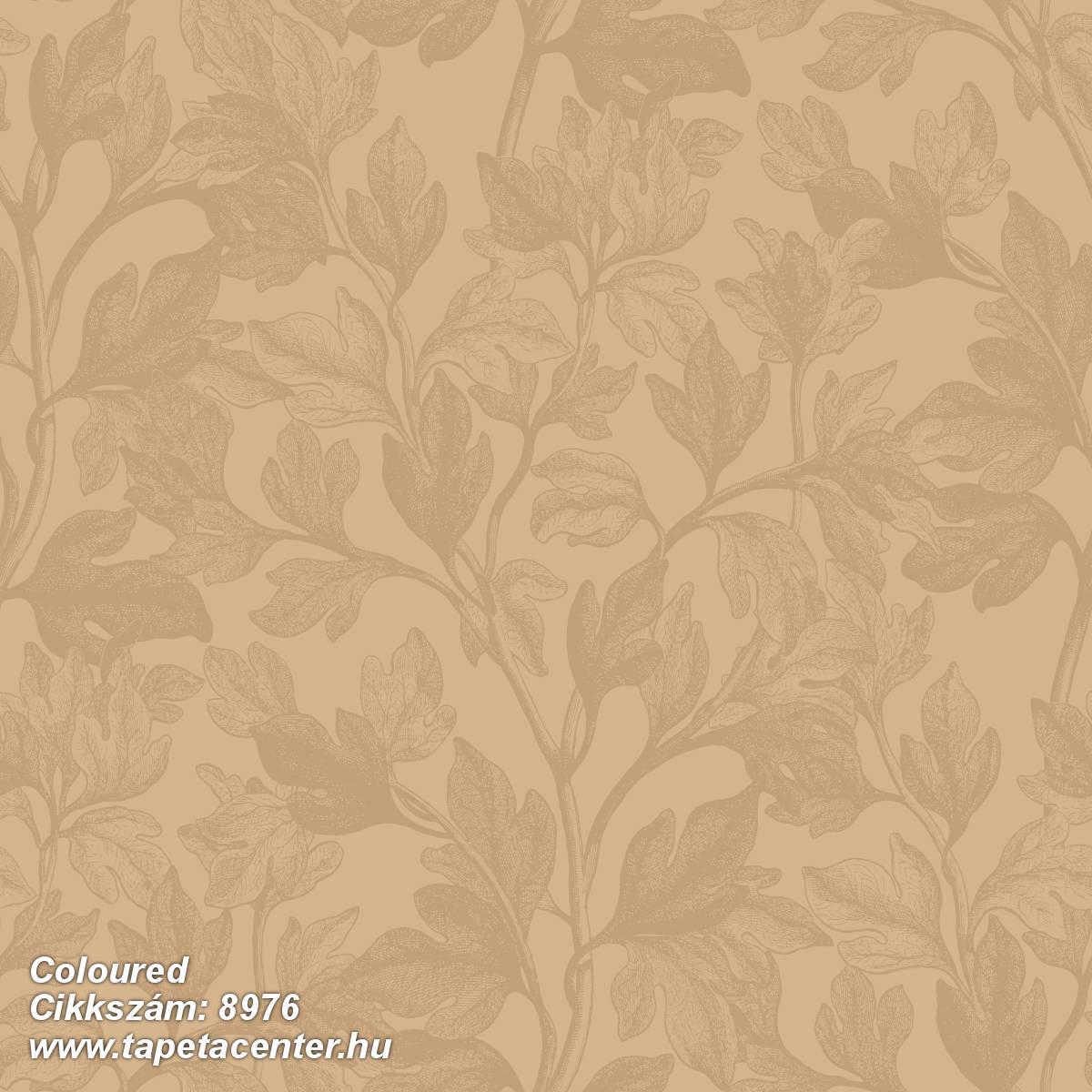 Természeti mintás,virágmintás,arany,lemosható,vlies tapéta