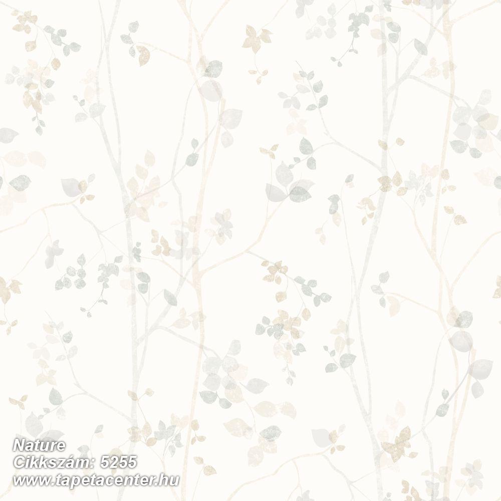 Természeti mintás,bézs-drapp,fehér,szürke,lemosható,vlies tapéta