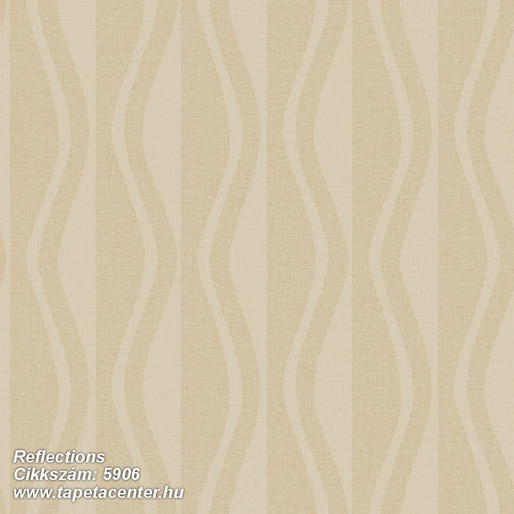 3d hatású,absztrakt,geometriai mintás,barna,bézs-drapp,lemosható,vlies tapéta