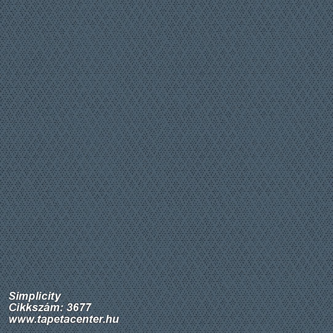 Geometriai mintás,kék,lemosható,vlies tapéta