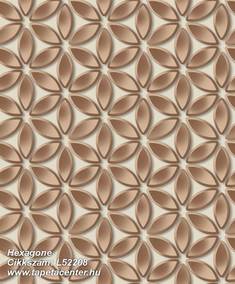 3d hatású,csillámos,különleges felületű,különleges motívumos,virágmintás,barna,bézs-drapp,bronz,lemosható,vlies tapéta
