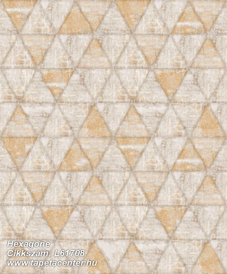 Absztrakt,csillámos,geometriai mintás,különleges felületű,különleges motívumos,bézs-drapp,narancs-terrakotta,lemosható,vlies tapéta