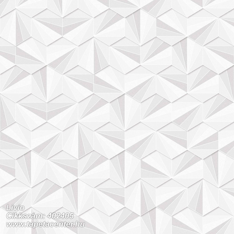 3d hatású,absztrakt,csillámos,geometriai mintás,különleges felületű,fehér,szürke,lemosható,vlies tapéta
