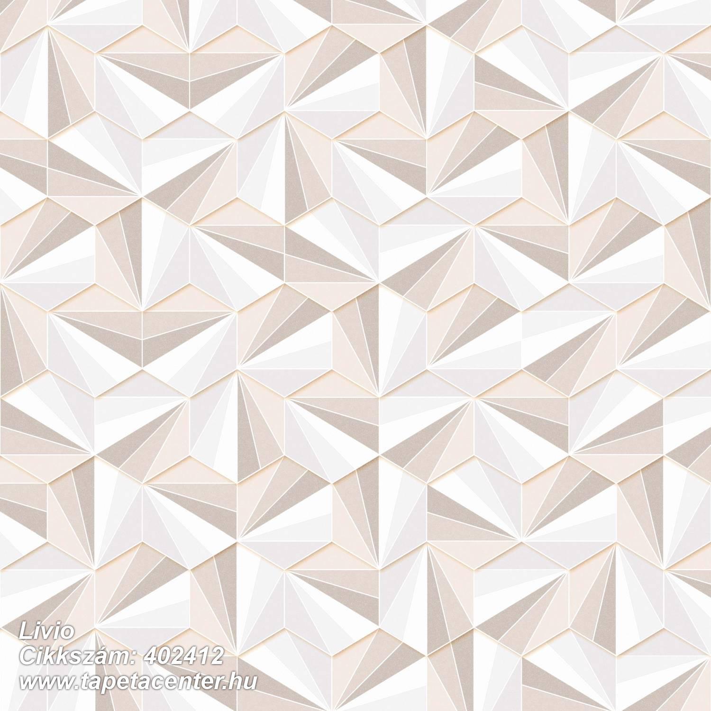 3d hatású,absztrakt,csillámos,geometriai mintás,különleges felületű,bézs-drapp,fehér,gyöngyház,lemosható,vlies tapéta