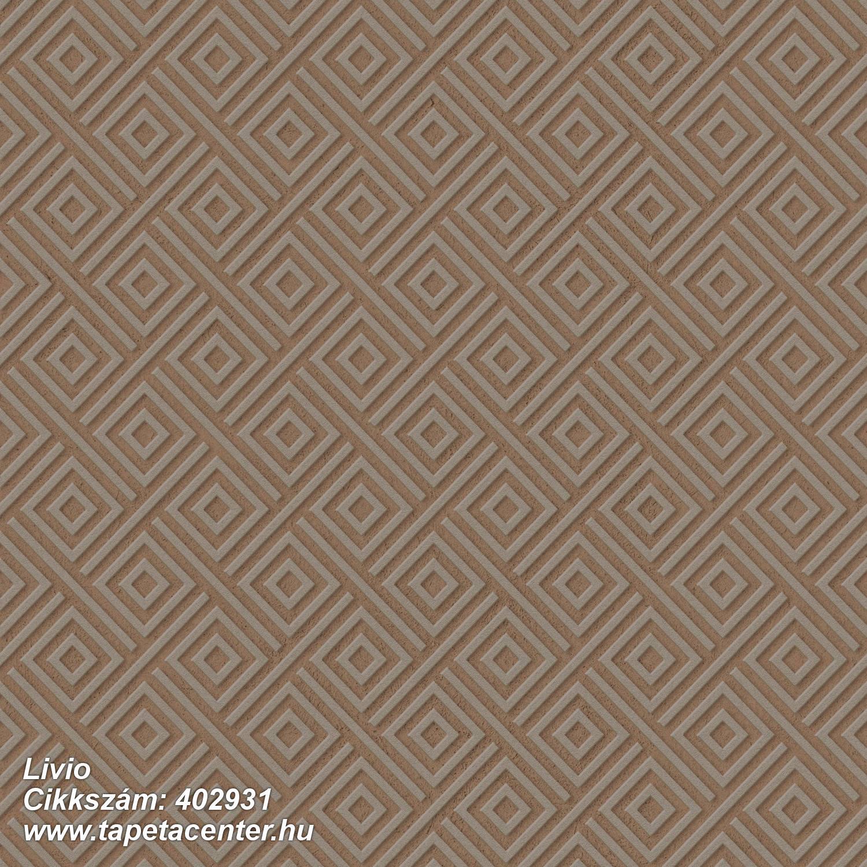 3d hatású,absztrakt,csillámos,geometriai mintás,különleges felületű,barna,szürke,lemosható,vlies tapéta