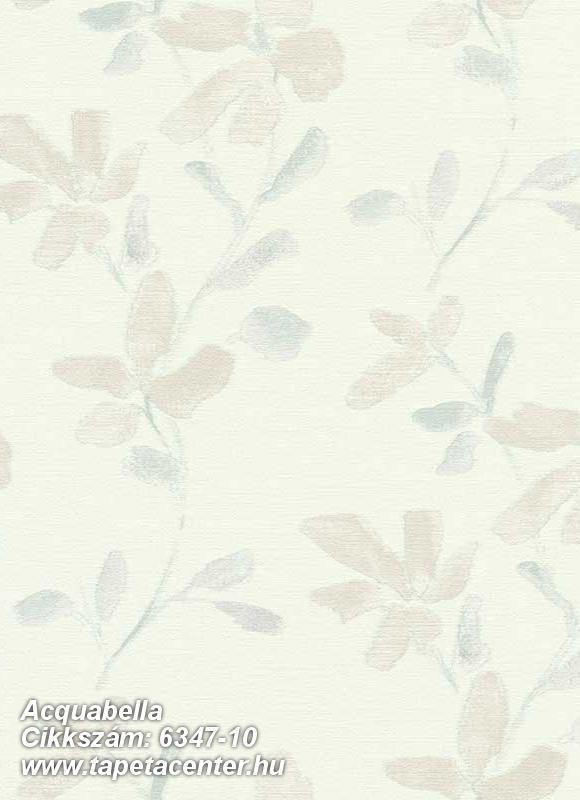 Különleges felületű,virágmintás,bézs-drapp,fehér,lila,lemosható,vlies tapéta