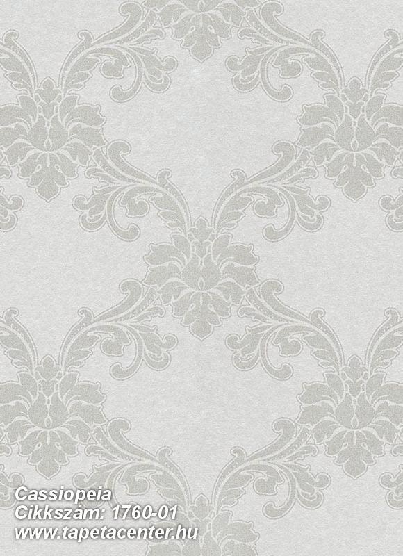 Barokk-klasszikus,különleges felületű,metál-fényes,bézs-drapp,vlies tapéta
