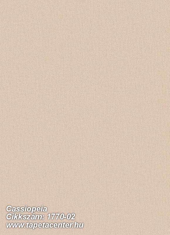 Egyszínű,különleges motívumos,bézs-drapp,illesztés mentes,vlies tapéta