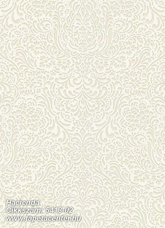 Barokk-klasszikus,különleges felületű,különleges motívumos,bézs-drapp,fehér,gyöngyház,lemosható,vlies tapéta