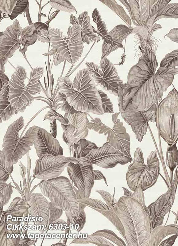Különleges felületű,különleges motívumos,természeti mintás,textil hatású,bézs-drapp,fehér,lemosható,vlies tapéta