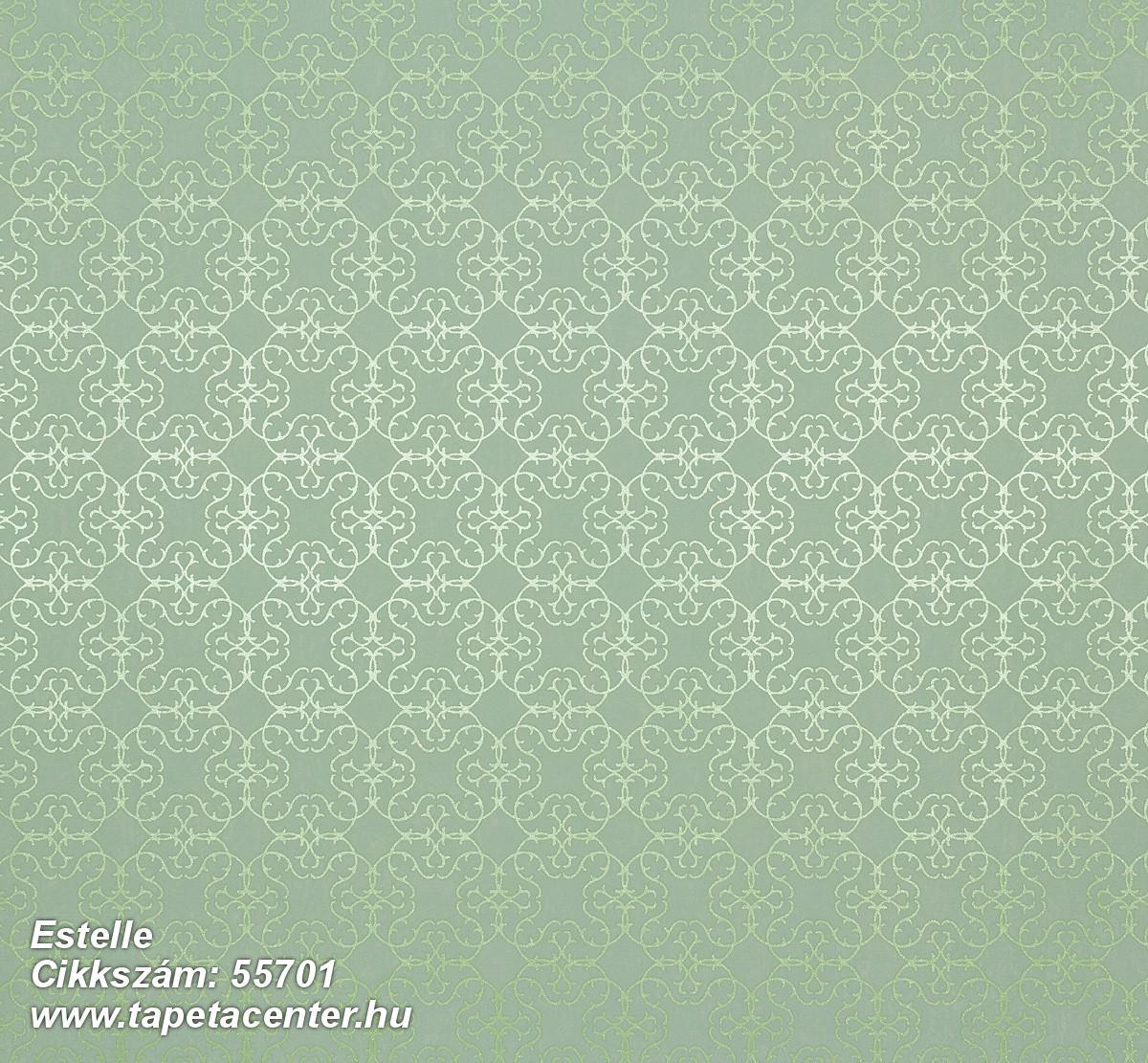 Absztrakt,kockás,metál-fényes,retro,textil hatású,textilmintás,ezüst,türkiz,zöld,lemosható,vlies tapéta