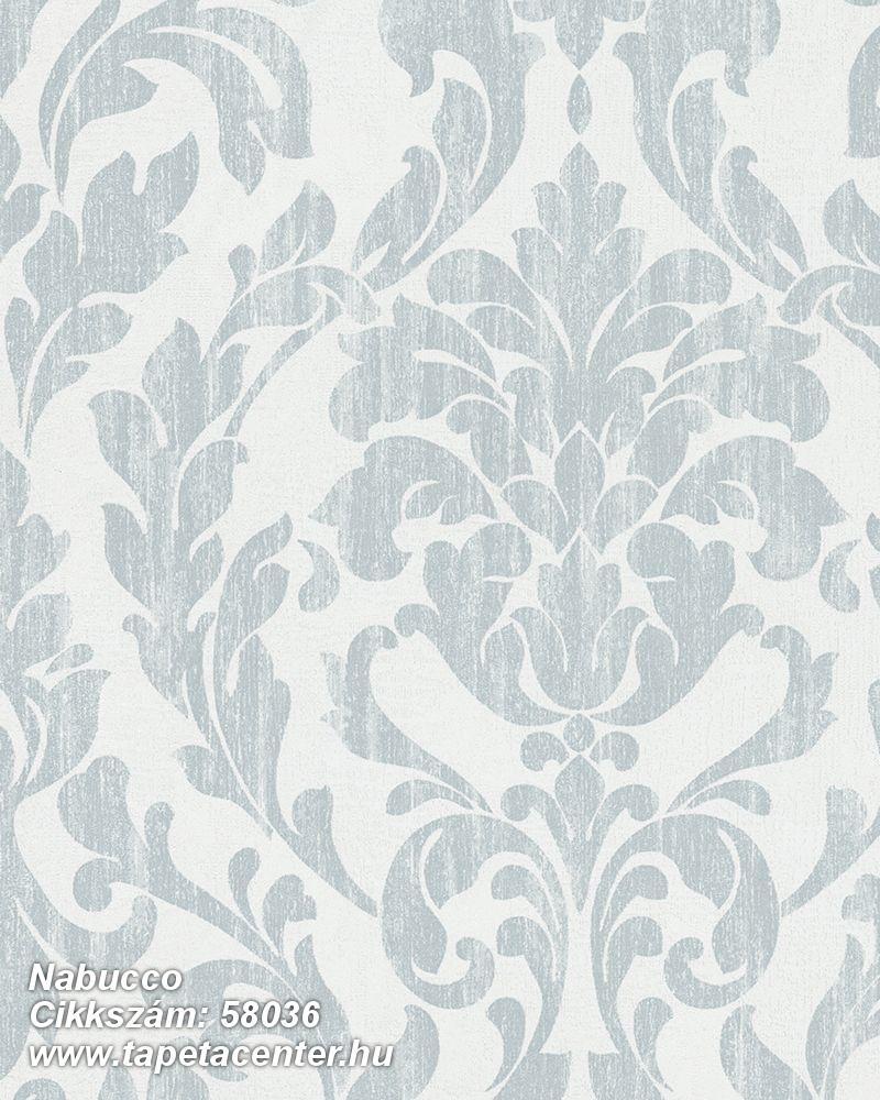 Barokk-klasszikus,kék,türkiz,zöld,lemosható,vlies tapéta