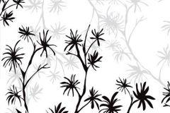 Fa hatású-fa mintás,rajzolt,retro,természeti mintás,virágmintás,fehér,fekete,szürke,gyengén mosható,vlies poszter, fotótapéta