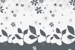 Absztrakt,gyerek,rajzolt,retro,természeti mintás,virágmintás,fehér,szürke,gyengén mosható,vlies poszter, fotótapéta