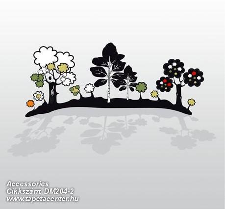 Absztrakt,gyerek,rajzolt,tájkép,természeti mintás,fehér,fekete,szürke,zöld,gyengén mosható,vlies poszter, fotótapéta