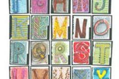 Feliratos-számos,gyerek,rajzolt,retro,barna,fehér,fekete,kék,lila,narancs-terrakotta,sárga,szürke,zöld,gyengén mosható,vlies poszter, fotótapéta
