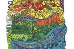 Csíkos,feliratos-számos,gyerek,különleges motívumos,rajzolt,retro,absztrakt,barna,kék,lila,narancs-terrakotta,pink-rózsaszín,piros-bordó,sárga,zöld,gyengén mosható,vlies poszter, fotótapéta