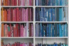 Fotórealisztikus,különleges motívumos,retro,fehér,kék,pink-rózsaszín,türkiz,gyengén mosható,vlies poszter, fotótapéta