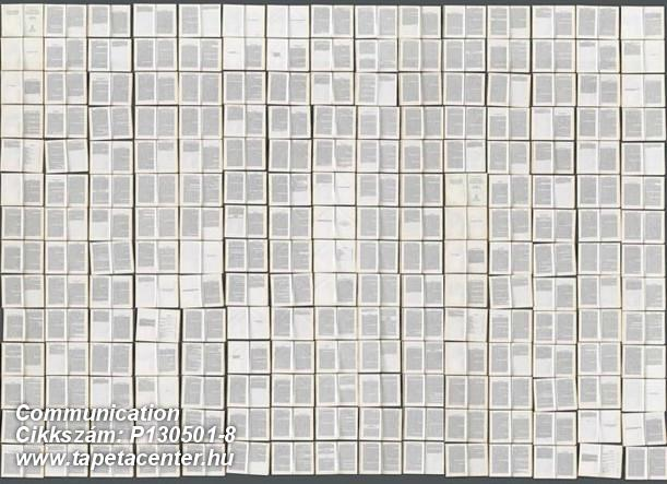 Feliratos-számos,kockás,különleges motívumos,bézs-drapp,fehér,fekete,gyengén mosható,vlies poszter, fotótapéta