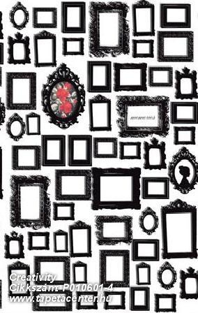 Kockás,konyha-fürdőszobai,különleges motívumos,rajzolt,retro,fehér,fekete,piros-bordó,gyengén mosható,vlies poszter, fotótapéta