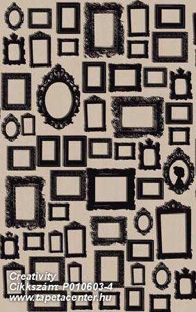 Absztrakt,kockás,rajzolt,retro,barna,fekete,gyengén mosható,vlies poszter, fotótapéta