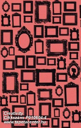 Absztrakt,geometriai mintás,kockás,rajzolt,retro,fekete,narancs-terrakotta,piros-bordó,gyengén mosható,vlies poszter, fotótapéta