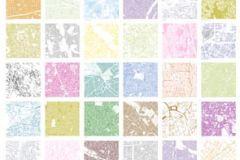 Absztrakt,fotórealisztikus,geometriai mintás,gyerek,kockás,különleges motívumos,rajzolt,retro,barna,bézs-drapp,fehér,kék,lila,narancs-terrakotta,pink-rózsaszín,sárga,zöld,gyengén mosható,vlies poszter, fotótapéta