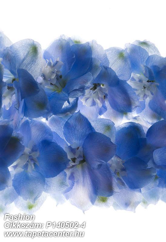 3d hatású,fotórealisztikus,természeti mintás,virágmintás,fehér,kék,gyengén mosható,vlies poszter, fotótapéta