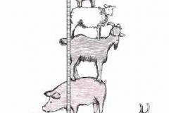 állatok,gyerek,különleges motívumos,rajzolt,természeti mintás,barna,fehér,pink-rózsaszín,szürke,gyengén mosható,vlies poszter, fotótapéta