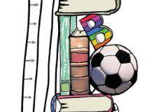 Feliratos-számos,gyerek,rajzolt,barna,fehér,fekete,pink-rózsaszín,piros-bordó,sárga,zöld,gyengén mosható,vlies poszter, fotótapéta