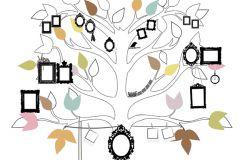 Gyerek,különleges motívumos,rajzolt,természeti mintás,barna,fehér,fekete,zöld,gyengén mosható,vlies poszter, fotótapéta