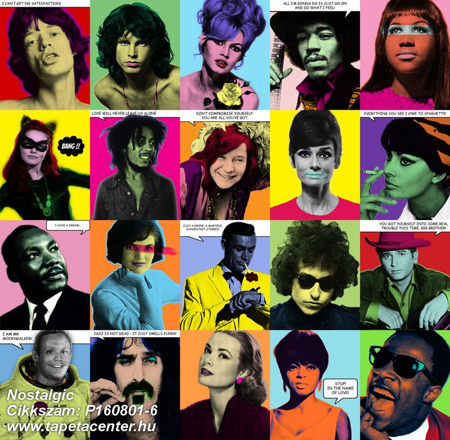 Emberek-sztárok,feliratos-számos,fotórealisztikus,konyha-fürdőszobai,retro,bézs-drapp,fehér,fekete,kék,sárga,zöld,gyengén mosható,vlies poszter, fotótapéta