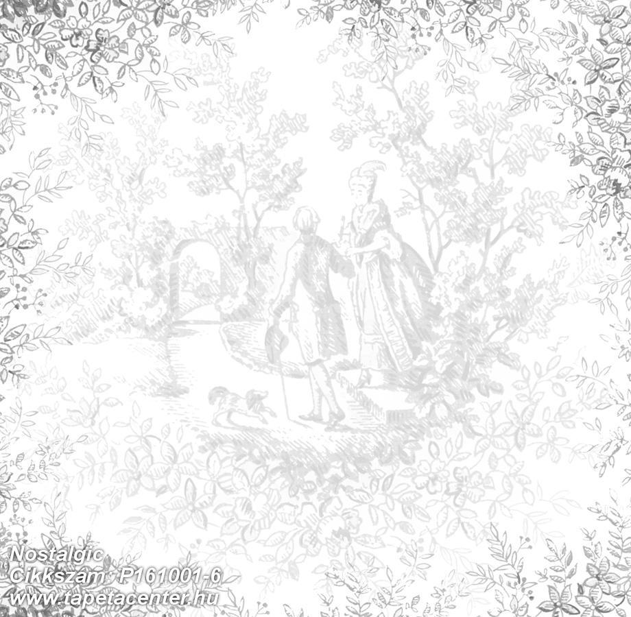 Barokk-klasszikus,emberek-sztárok,rajzolt,természeti mintás,fehér,fekete,gyengén mosható,vlies poszter, fotótapéta