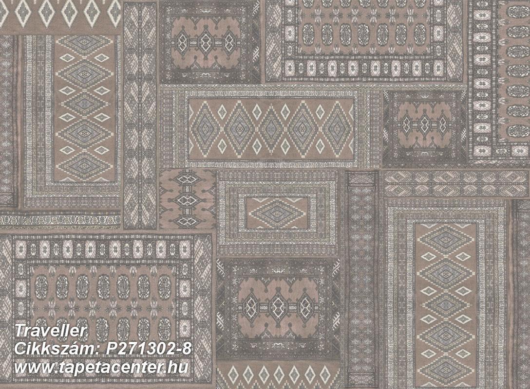 Absztrakt,különleges felületű,különleges motívumos,pöttyös,barna,bézs-drapp,szürke,lemosható,vlies poszter, fotótapéta