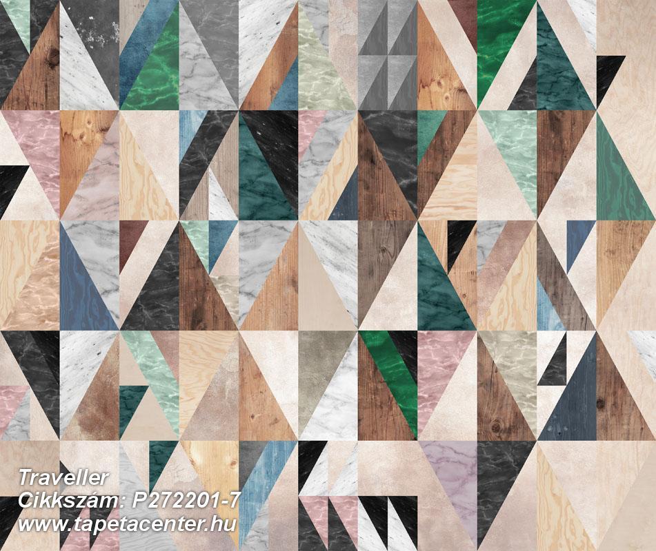 Absztrakt,különleges felületű,különleges motívumos,retro,barna,kék,pink-rózsaszín,piros-bordó,szürke,zöld,lemosható,vlies poszter, fotótapéta