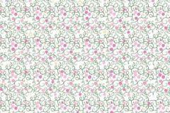 Absztrakt,különleges motívumos,természeti mintás,fehér,pink-rózsaszín,zöld,gyengén mosható,vlies poszter, fotótapéta