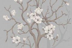 Fa hatású-fa mintás,különleges motívumos,rajzolt,retro,természeti mintás,virágmintás,barna,bézs-drapp,szürke,gyengén mosható,vlies poszter, fotótapéta