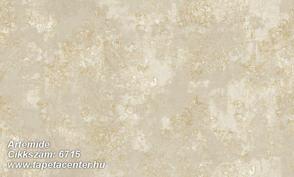 Absztrakt,barokk-klasszikus,különleges felületű,különleges motívumos,textil hatású,virágmintás,bézs-drapp,vajszín,súrolható,vlies tapéta