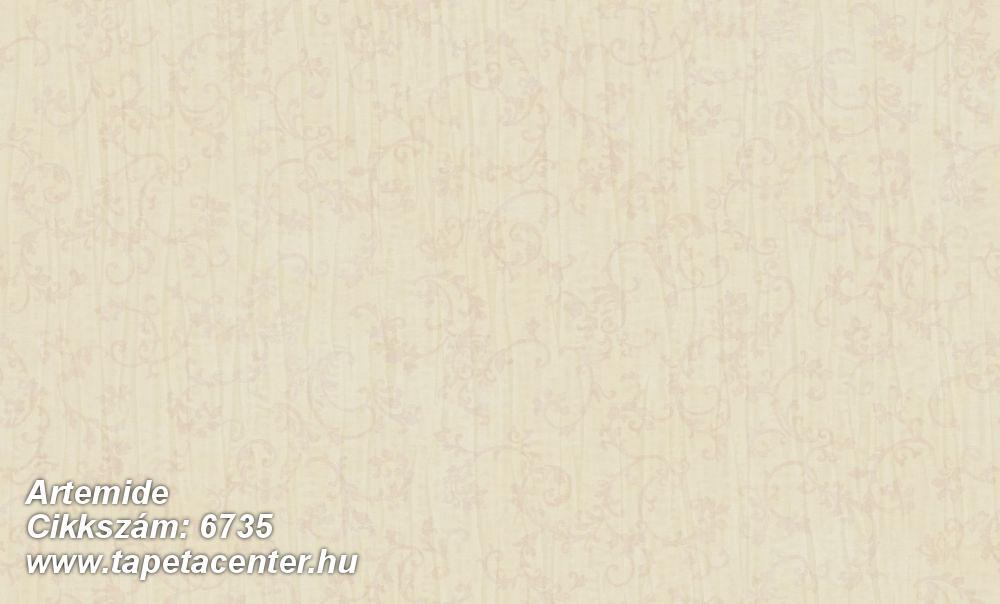 Barokk-klasszikus,különleges felületű,különleges motívumos,textil hatású,bézs-drapp,súrolható,vlies tapéta