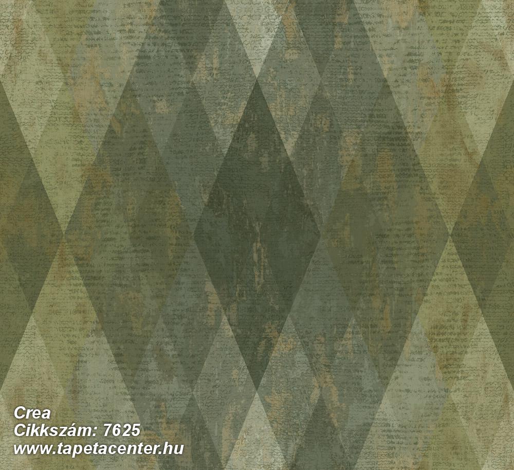 Geometriai mintás,bézs-drapp,kék,zöld,súrolható,vlies tapéta