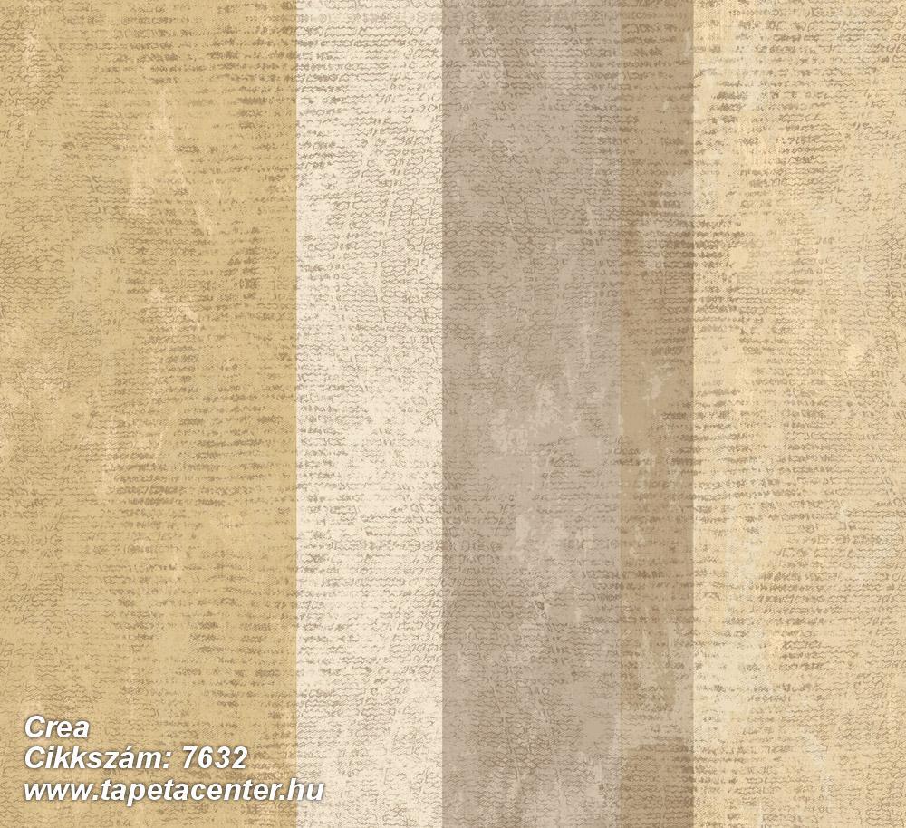 Barokk-klasszikus,csíkos,textil hatású,barna,bézs-drapp,sárga,szürke,súrolható,illesztés mentes,vlies tapéta