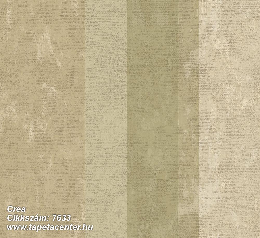 Barokk-klasszikus,csíkos,textil hatású,bézs-drapp,zöld,súrolható,illesztés mentes,vlies tapéta