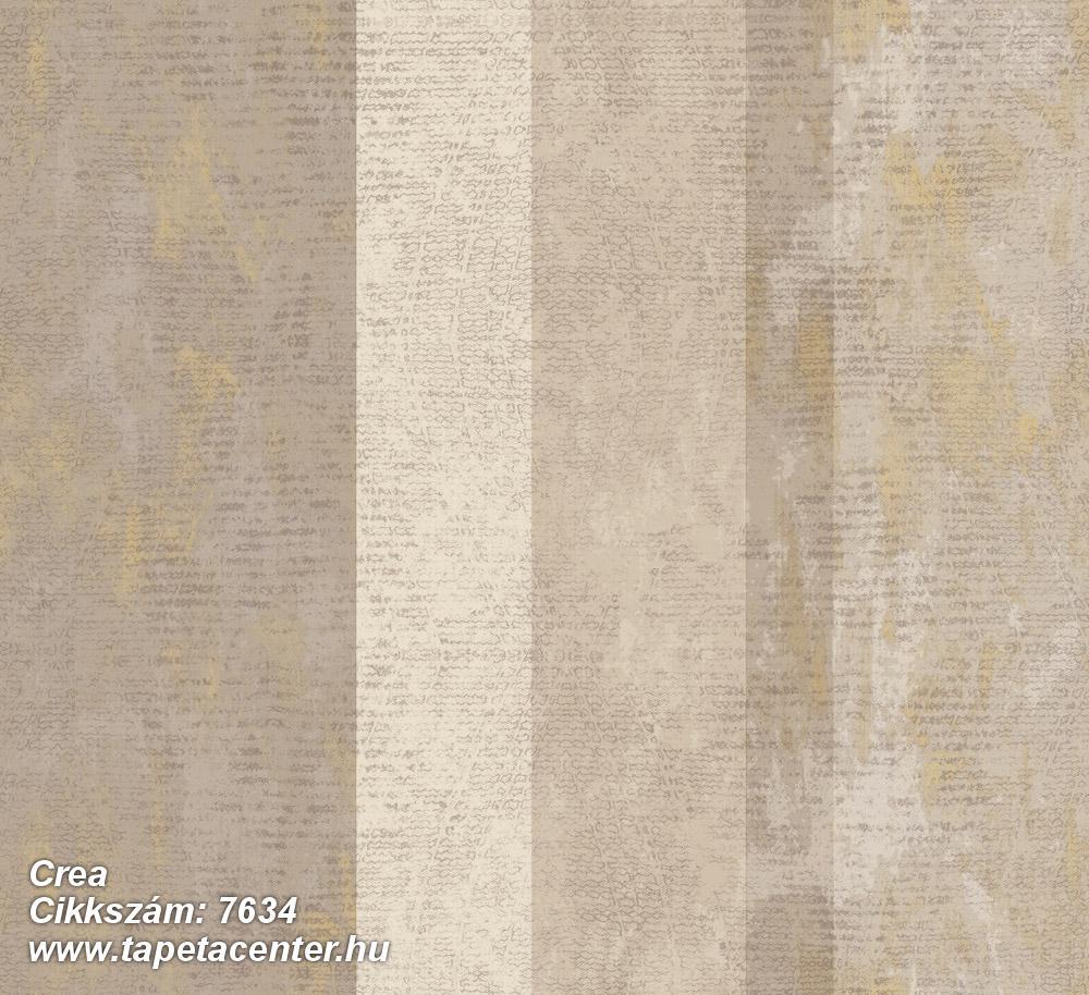 Barokk-klasszikus,csíkos,textil hatású,bézs-drapp,szürke,súrolható,illesztés mentes,vlies tapéta