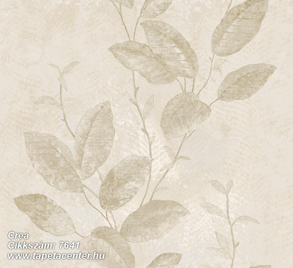 Barokk-klasszikus,természeti mintás,textil hatású,virágmintás,bézs-drapp,szürke,vajszín,súrolható,vlies tapéta