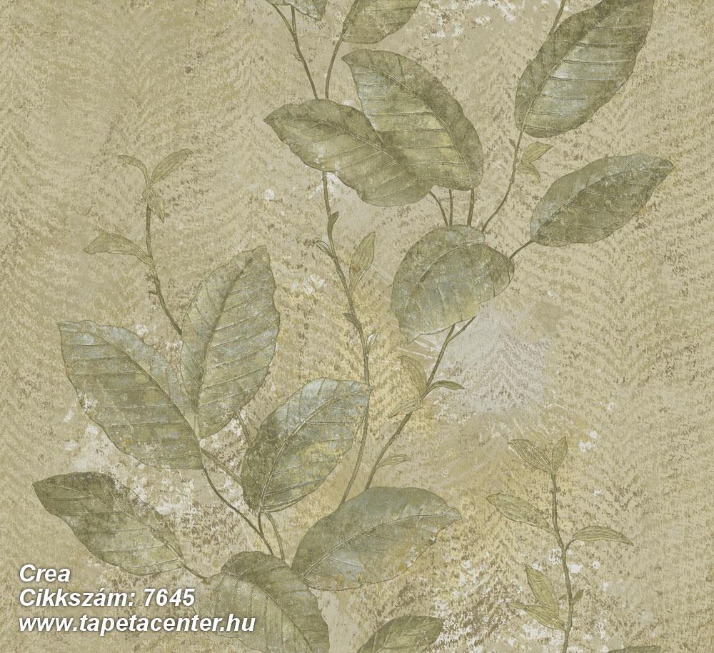 Barokk-klasszikus,természeti mintás,textil hatású,virágmintás,bézs-drapp,szürke,vajszín,zöld,súrolható,vlies tapéta