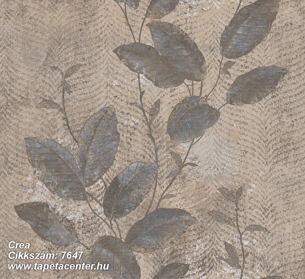 Barokk-klasszikus,természeti mintás,textil hatású,virágmintás,barna,bézs-drapp,kék,szürke,súrolható,vlies tapéta