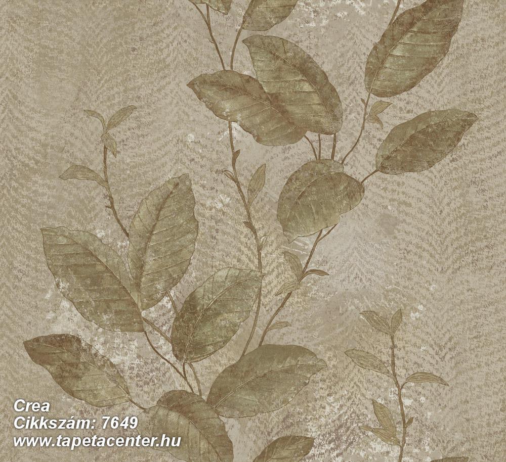 Barokk-klasszikus,természeti mintás,textil hatású,virágmintás,bézs-drapp,szürke,zöld,súrolható,vlies tapéta